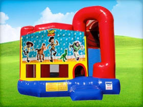 4in1 Toy Story Bounce House w/ Wet or Dry Slide