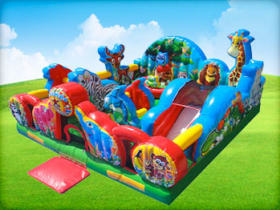 Zoo Animal Kingdom Bounce House
