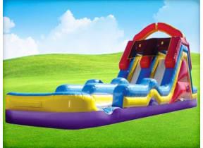 Monster Double Air Splash Water Slide w/ Pool