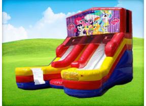 16ft Double Lane My Little Pony (Wet/Dry) Slide