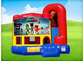 4in1 PJ Masks Bounce House w/ Wet or Dry Slide