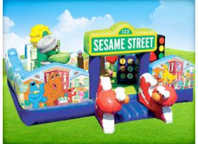 Sesame Street Toddler Moonwalk