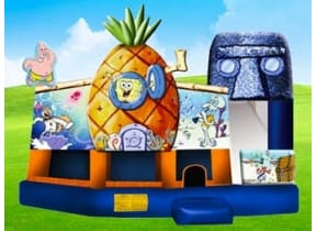Spongebob 5in1 w/ (Wet or Dry Slide)