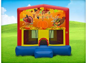 13 x 13 Thanksgiving Bounce House