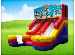 16ft Double Lane Toy Story (Wet/Dry) Slide