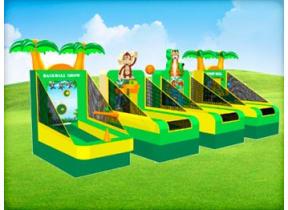Tropical Luau Carnival Game Station