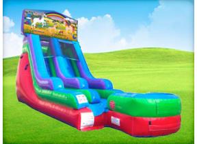 15ft Unicorn Retro Wet/Dry Slide