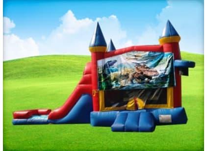 3in1 Dinosaur Bounce House