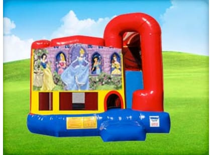Princess 4in1 Combo Bounce House