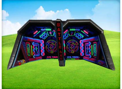 Big Battle Axe Jumphouse Game