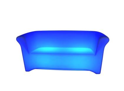 LED illuminated sofa for 3