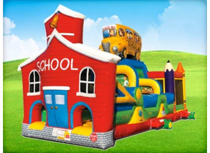 School Bounce House Obstacle