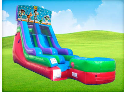 Toy Story Bounce House Wet/Dry Water Slide