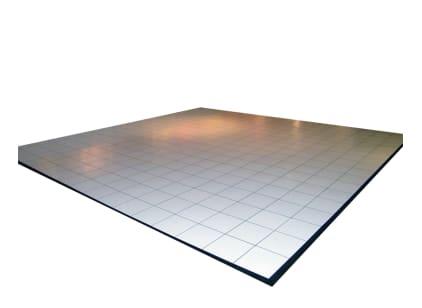 White Dance Floor - 12' x 12'