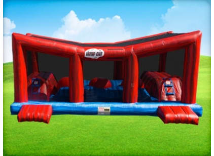 Wiped Out Bounce Obstacle