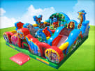 Rent Zoo Themed Bouncy Houses