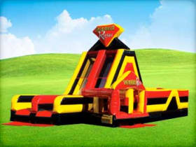 Double Rush Inflatable Obstacle