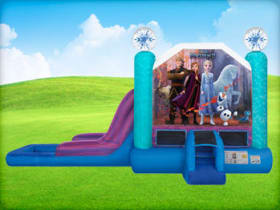 Frozen Bounce House Combo Party Rentals