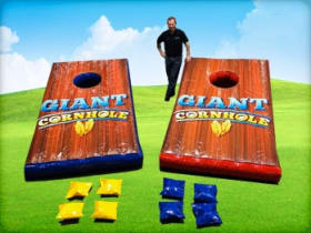 Giant Inflatable Corn Hole Game