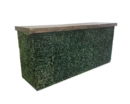 8 FT -Boxwood Bar