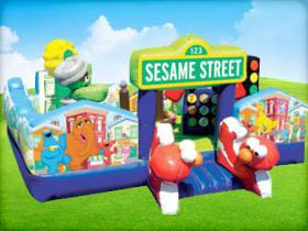 Sesame Street Moonwalk