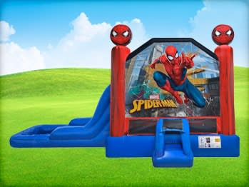 Spiderman Inflatable Jumphouse