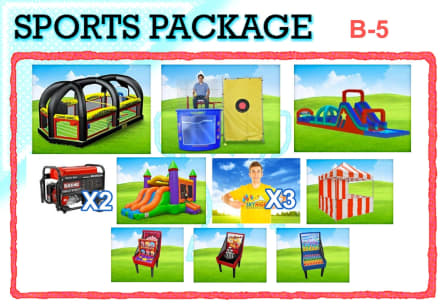 Field Day Sports Party Event Packages
