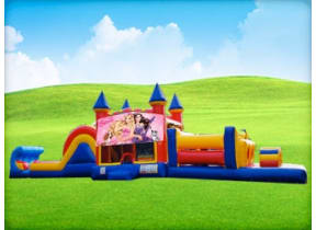 50ft Barbie Obstacle w/ Wet or Dry Slide