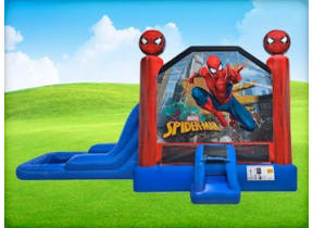 3in1 Spiderman EZ Combo w/ Wet or Dry Slide