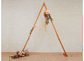 8' Triangle wood arch