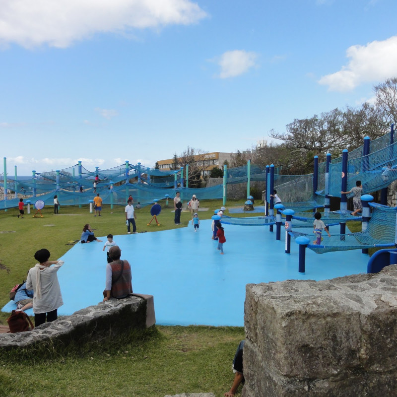 Okinawa Churaumi Aquarium Playground
