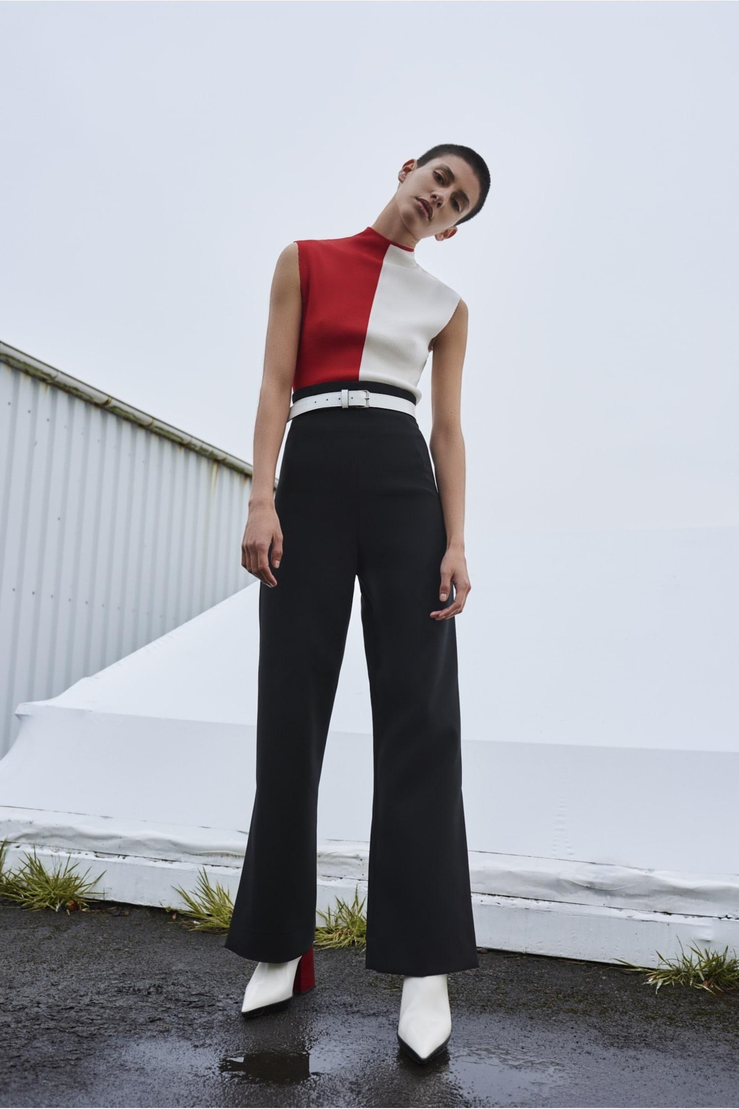 Dafina Trouser Black