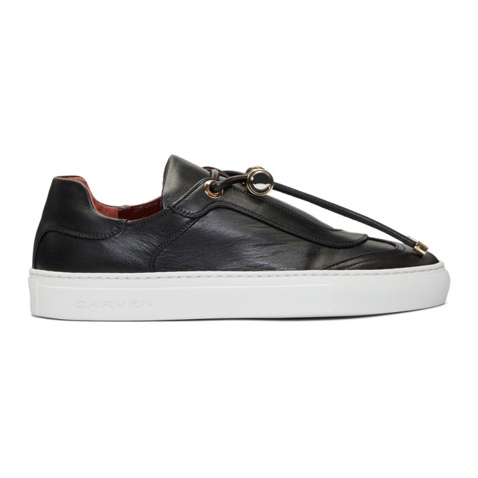 Carven Leather Mabillon Sneakers