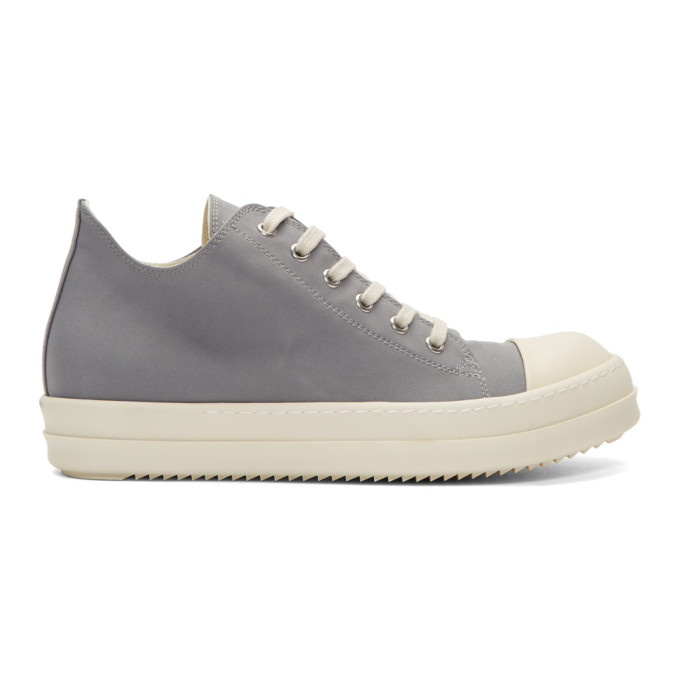 Rick Owens Drkshdw Grey & Off-White Low Sneakers DUXFpPF