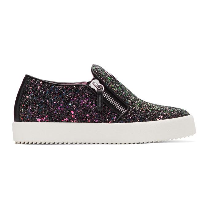 Giuseppe Zanotti SSENSE Exclusive Glitter May London Slip-On Sneakers uGvF2