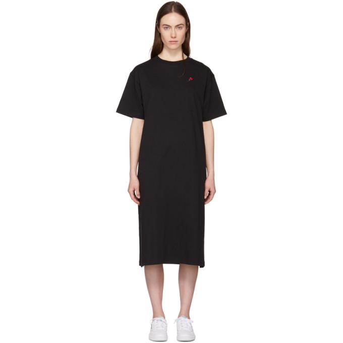 Genuine Online Clearance Limited Edition Black Rose T-Shirt Dress 6397 YkDJ37bTD