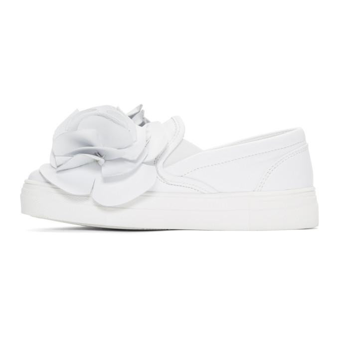 Sophia Webster White Jumbo Lilico Adele Sneakers Tb05cJMk