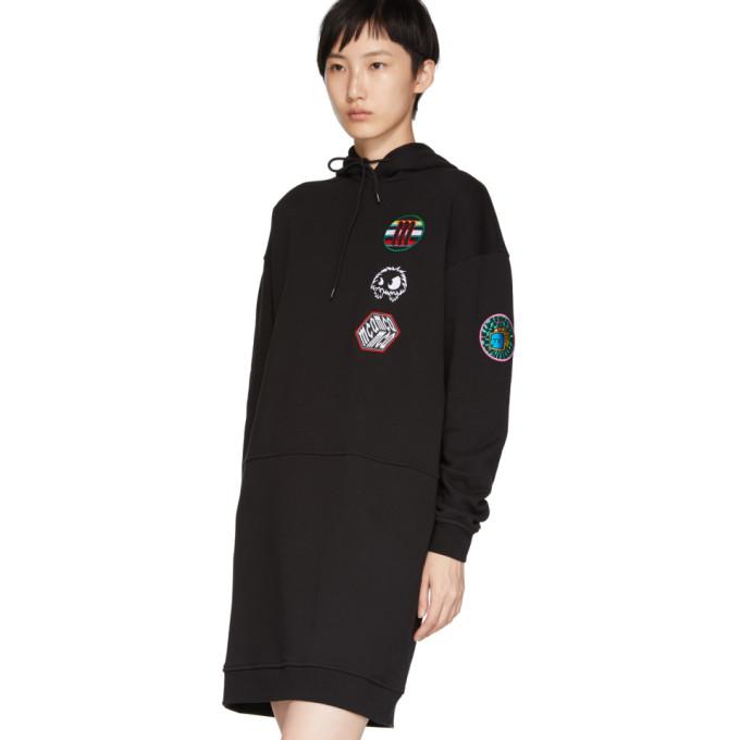 Alexander Style Pull De Robe Noire À Capuche Mcq Mcqueen GUzMqSVp