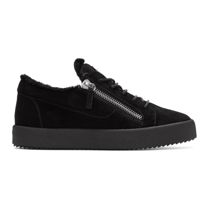 Giuseppe Zanotti Black Sensory May London Sneakers hXBG13I