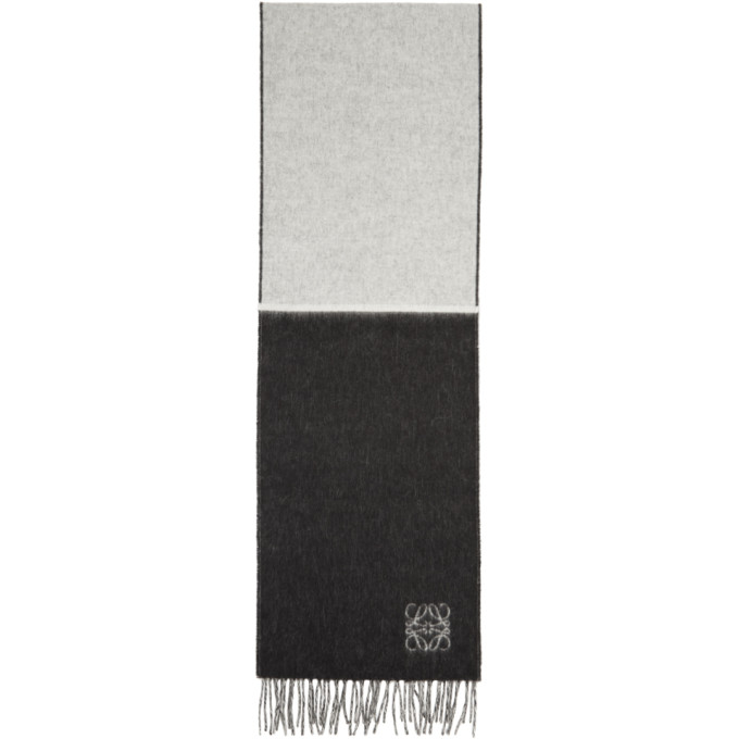 Vitre Noir Et Blanc Écharpe Anagram Loewe qTEpd