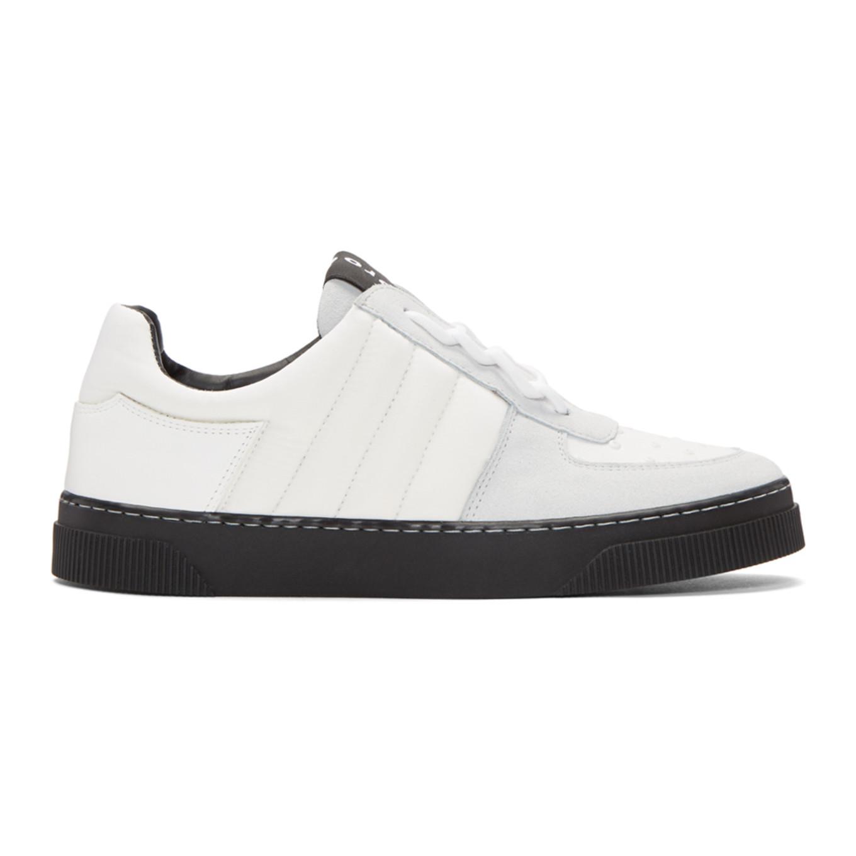 Proenza Schouler & Grey Lace-Up Sneakers NTGJQh