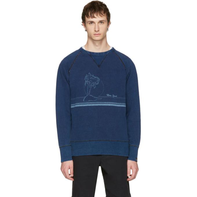Indigo 'new York' Vacation Sweatshirt by Rag & Bone