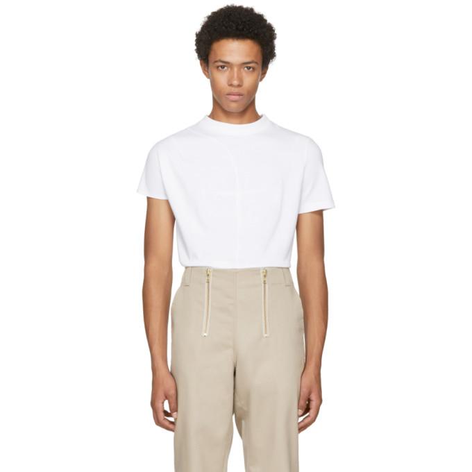 VEJAS Vejas White Phantom Dart T-Shirt