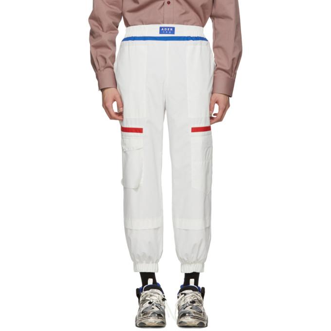 White Gundamn Trousers by Ader Error