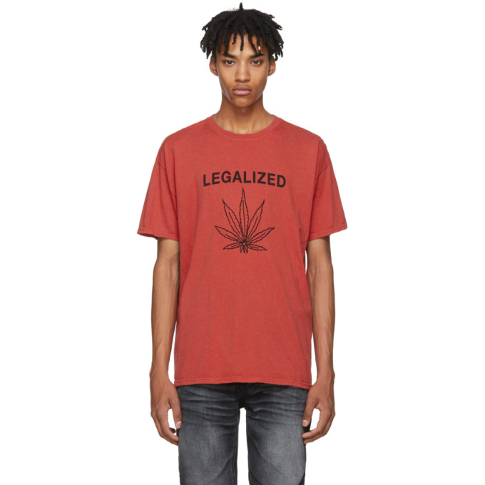 ADAPTATION T-Shirt in Red