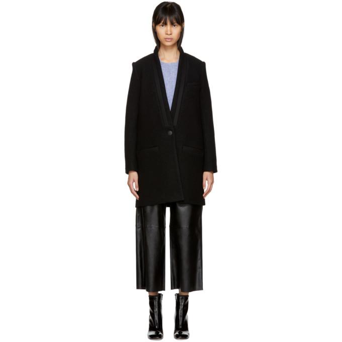 Rag And Bone Black Tuxx Coat in 001 Black