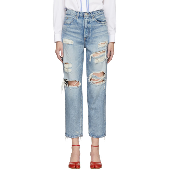 MOUSSY BARRON JW TAPERED JEANS