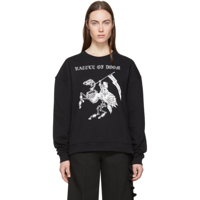 Mcq Alexander Mcqueen Fear Nothing Sweatshirt - Black