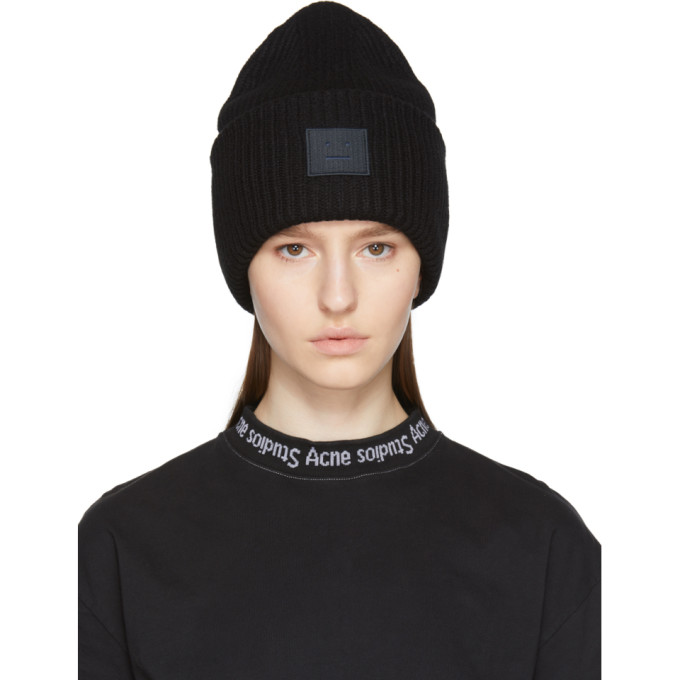 OPENING CEREMONY PANSY WOOL BEANIE