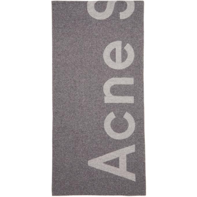 Toronty wool-blend scarf